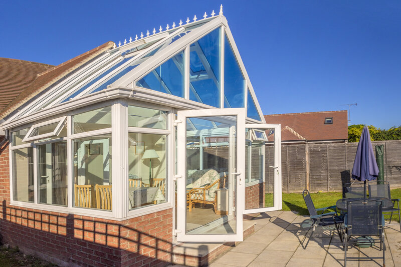 Glass Conservatory in Leicester Leicestershire